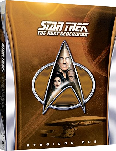 Star Trek - The Next Generation - Stagione 02 (6 Blu-Ray) [Italia] [Blu-ray]