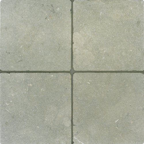 Arizona Tile 6 by 6-Inch Tumbled Limestone Tile, Seagrass, 6-Total Square Feet
