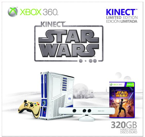 Xbox 360 Limited Edition Kinect Star Wars Bundle (Xbox 360 Special Edition Console compare prices)