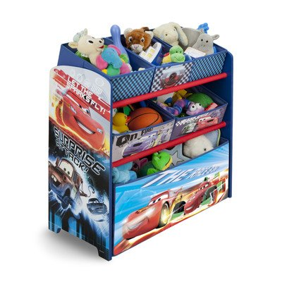 Disney Pixar Cars Multi-Bin Toy Organizer - 1