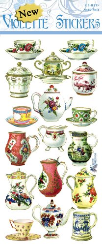 Violette Stickers French China (Teapot Stickers compare prices)