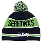 Seattle Seahawks Knit winter hats 001 at Amazon.com