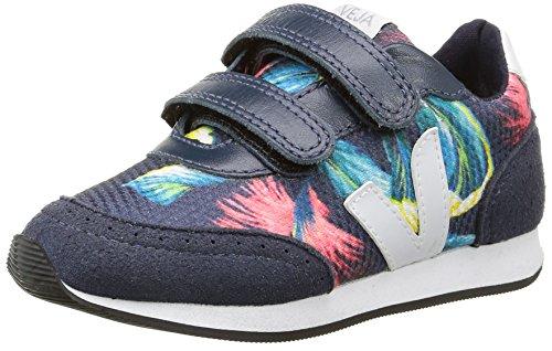 VejaArcade Small - Sneakers Unisex per bambini , blu (Blue (Bahia Nautico White)), Bambino 23,5 EU
