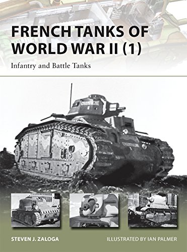 French Tanks of World War II (1): Infantry and Battle Tanks (New Vanguard) (World War 1 Weapons compare prices)