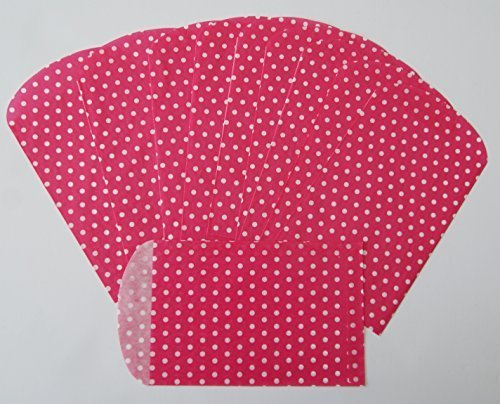 Spritz Paper Party Favor Bags - Pink Polka Dot - 10 Ct