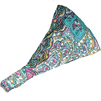 Cotton Headband With Bright Mix Colors From Silly Yogi