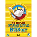 Stuart Little Complete All 3 Movies DVD Film Trilogy Collection [3 Discs] Part 1, 2, 3:Call of the Wild + Extras