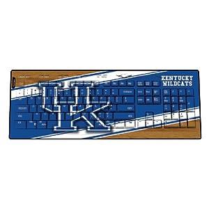 NCAA Kentucky Wildcats Wireless USB Keyboard by Keyscaper