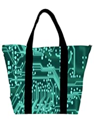 Snoogg Digital Board 2409 Womens Large Shoulder Tote Bag