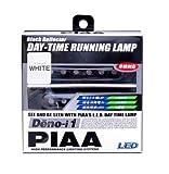 PIAA ( ピア ) LEDデイタイムランプ 【Deno-i 1】 ホワイト6連 12V 2個入り L-221W