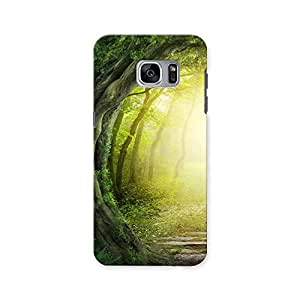 ArtzFolio Magic Road : Samsung Galaxy S7 Matte Polycarbonate ORIGINAL BRANDED Mobile Cell Phone Protective BACK CASE COVER Protector : BEST DESIGNER Hard Shockproof Scratch-Proof Accessories