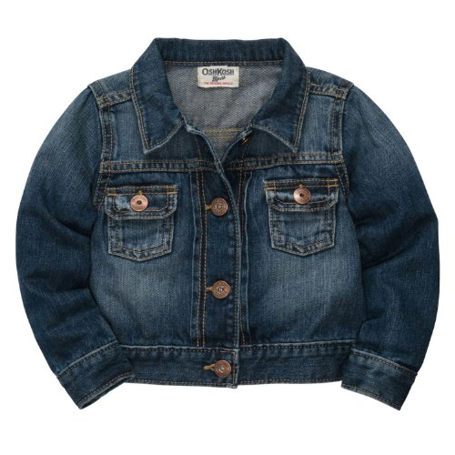 Oshkosh B'Gosh Denim Jacket (Toddler/Kids) - Blue Ivy-2T front-1044225