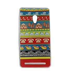 Exclusive Soft Silicone Back Case Cover For Asus Zenfone 5 - Pattern