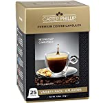 Nespresso Compatible Capsules - Premium Dark Roast Espresso, Lungo and Decaf blends by Carter Phillip Fine Coffee, Now in Nespresso Capsule Format - Delicious Alternative to Nespresso Pods from Carter Phillip Coffee