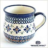 [Boleslawiec/ボレスワヴィエツ陶器]マグカップ-du60(ポーリッシュポタリー)