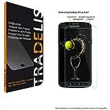 Tradelis Samsung Galaxy S4 Active (nicht S4!)Displayschutzfolie / Panzerglas / Tempered Glass / Hartglas / Glasfolie / Schutzglas / Displayschutzglas (Härte: 8-9H)