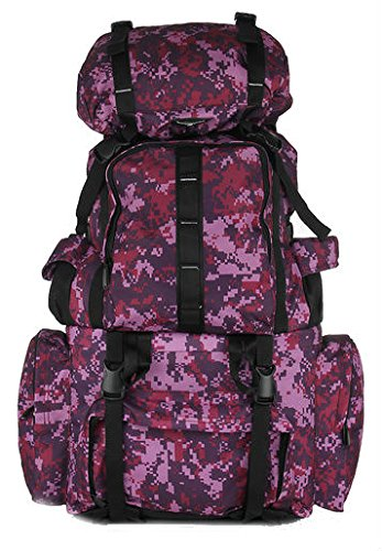 President HULK Polyester 60 liters wine And Black Hiking Bag  available at amazon for Rs.1649