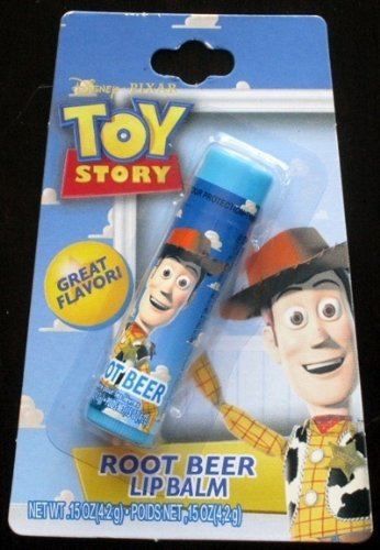Disney Pixar Toy Story Woody Root Beer Lip Balm