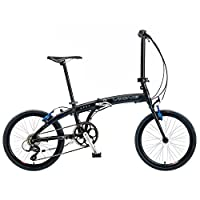 Viking Apex 20 Inch Wheel Folding Bike - Matt Black, 11 Inch from Viking