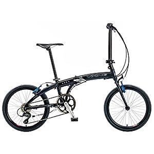 Viking Apex 20 Inch Wheel Folding Bike - Matt Black, 11 Inch from Viking