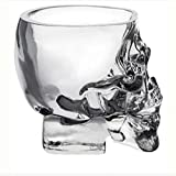 Temall Crystal Skull Pirate Shot Glass Drink Cocktail Beer Cup 2.5oz Set of 4