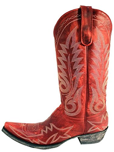 Old Gringo New Nevada Red Womens Boots L175 262 6 5