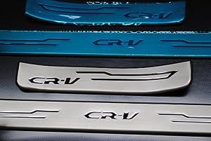 CRV CHROME DOOR SILLS STAINLESS STEEL ACCESSORY SET 2012 2013 2014
