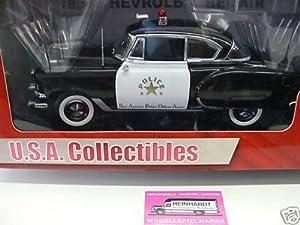 SUNSTAR 1:18 SCALE 1954 CHEVROLET BEL AIR POLICE DIECAST DIE-CAST MODEL TOY CAR