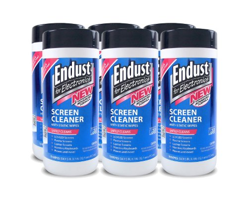 Endust Lcd And Plasma Monitor Cleaner Pop-Up Wipes 70 Ct - 6 Pack (11506P6) front-57595