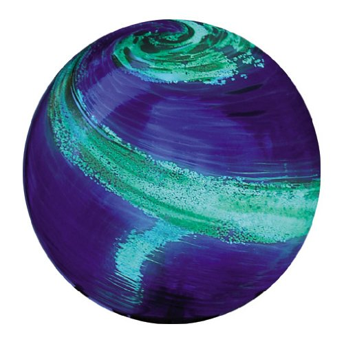 Echo Valley 8140 10-Inch Glow-in-the-Dark Illuminarie Glass Gazing Globe, Light Blue Swirl Review