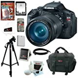 Canon EOS Rebel T3i 18 MP CMOS Digital SLR Camera with EF-S 18-135mm f/3.5-5.6 IS Standard Zoom Lens + 16GB Deluxe Accessory Kit