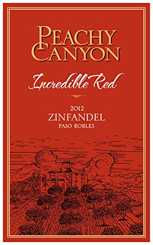 2012 Peachy Canyon Incredible Red Zinfandel 750Ml