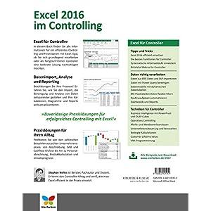 Excel 2016 im Controlling: Zuverlässige und effiziente Praxislösungen für Controller. A