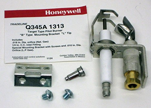 Q345A1313 Q345A1 1313 Honeywell Upgraded Universal Replacement Furnace Pilot Burner Ignitor Igniter (Gas Furnace Universal Ignitor compare prices)