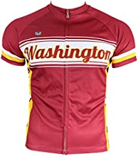 Washington DC Retro Burgundy Men39s Cycling Jersey
