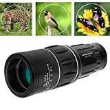 16x52 Day & Low Night Vision Monocular Dual Focus Optics Zoom, For Birds Watching/ Wildlife/ Hunting/ Camping/ Hiking/ Tourism/ Armoring/ Live Concert 66m/ 8000m
