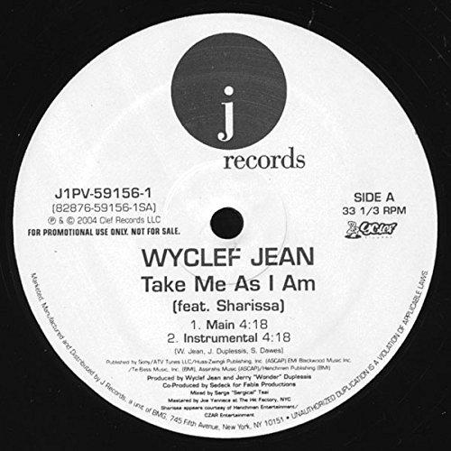 Wyclef Jean - Take Me As I Am(VLS) - Zortam Music