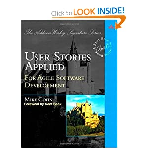 User Stories Applied: For Agile Software Development [Paperback]