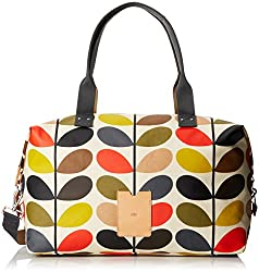Orla Kiely Multi Stem Zip Holdall Carry On, Multi, One Size