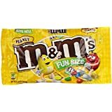 M&M's Fun Size Peanut Chocolate Candy, 11.23-Ounce (Pack of 6)