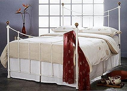 Dormitorios : Cama y Cabecero Mod. AMARANTO Blanco
