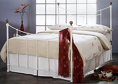 Chambres à coucher: Têtes de lit ou lits: modèle AMARANTO (blanc)