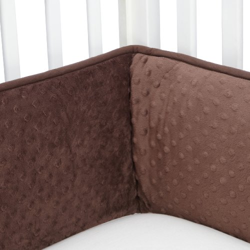 Carters Super Soft Bumper, Chocolate