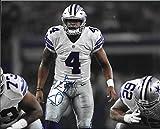 Dak Prescott signed autographed Dallas Cowboys 8 x 10 Photo - Near Mint Condition - COA