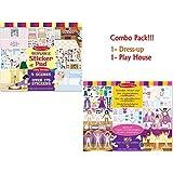 Melissa & Doug Dress-Up & Play House Reusable Sticker Pads