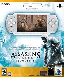 PSP 3000 Limited Edition Assassin's Creed: Bloodlines Entertainment Pack- White