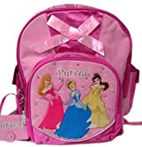 Medium Size Pink Bow Disney Princess Kids Backpack