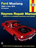 img - for Ford Mustang V8 Automotive Repair Manual: 1964 1/2 Thru 1973 book / textbook / text book
