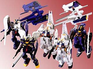 Ms Gundam Advance of Z Development History Figure Gashapon Case Part 2