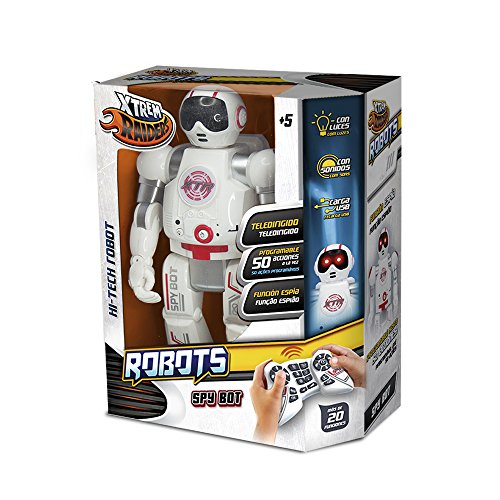 World Brands - Spy Bot, robot controlable por control remoto (XT30038)